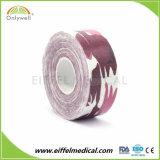 El patrón de kinesiología de algodón de calidad profesional de cintas impresas