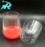 Taza de jugo de plástico de 15oz cáliz