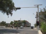 6 tráfego de cidade solar Pólo do braço do medidor X 4.5meter
