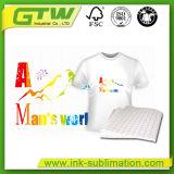 van de Katoenen van de Grootte 100GSM A3/A4 het Document Overdracht van de T-shirt in Lichte Kleur