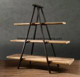 木の表示表の洋品店の表示家具