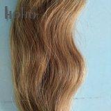Onda Corporal Castanha de 16 pol de ponta em U Keretin Exension brasileira de cabelo humano