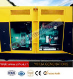 generatore diesel silenzioso di energia elettrica di 55kVA Cummins con l'alternatore di Stamford [IC180308d]