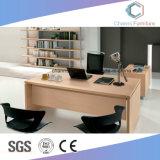 현대 L 모양 매니저 나무로 되는 컴퓨터 테이블 (CAS-MD1803)
