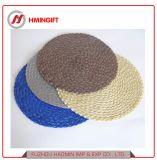 O algodão e tapetes de prato de PVC/Placemats