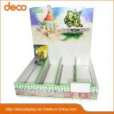 Двухшпиндельный бумажный стеллаж для выставки товаров картона стойки индикации для Advrtising