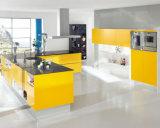 最上質のカスタマイズされた現代光沢度の高いラッカー食器棚
