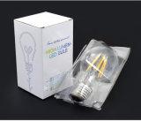 LEDのフィラメントライトE27 4W A60 LEDエジソン球根