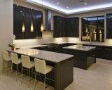 Gabinete de cozinha asiático da laca da forma do estilo