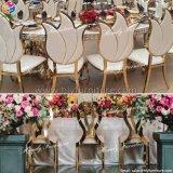 Гостиница Wedding высокая задняя нержавеющая сталь золота обедая стул Hly-St32