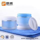 100g装飾的な包装のための明確で小さい空の安い缶PPのプラスチッククリーム色の瓶