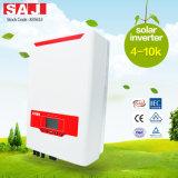 Alta efficienza di SAJ 3 uscita solare dell'invertitore 6000W del legame di griglia di fase