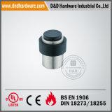GummiEdelstahl-runder Tür-Stopper für Fußboden