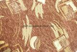 100%年のポリエステルファブリックのブラウンのシュニールの家具製造販売業ファブリック