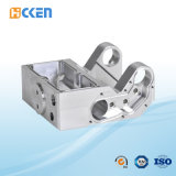 Kundenspezifisches hohe Präzisions-Aluminium-maschinell bearbeitenprägegehäuse