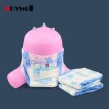 通気性および柔らかい赤ん坊のおむつ布のように100%年の工場価格