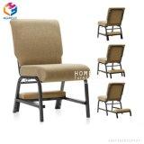 Stapelbare Gebet-Berufsentwurfs-Kirche aufgefüllte Stühle mit Bücherregal