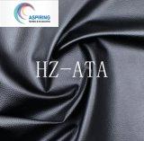 Couro sintético revestido do plutônio para a tela da roupa