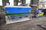 Máquina para corte de metales QC11K-12*5000 de la guillotina E200 de la placa de la hoja hidráulica de la cortadora