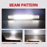 Barra chiara combinata luminosa eccellente di azionamento di riga 270W 22inch 12V IP68 LED del fascio 3 del fascio di punto dell'inondazione