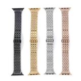 New High Rhinestone Stainless Steel Watch Strap for Apple Watch Band