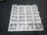 Kurbelgehäuse-Belüftung Dance Floor mit der Größe ist das 310*310*12mm Weiß-Farbe