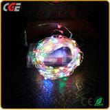 Weiße LED-Lichter mit Weihnachtslichtern