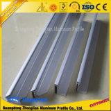 Profil en aluminium anodisé Uesd d'extrusion pour la bride de panneau solaire