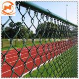 L'acier galvanisé Diamond Wire Mesh/clôture de maillon de chaîne