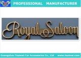 Эмблема письма Royalsaloon золота левой стороны