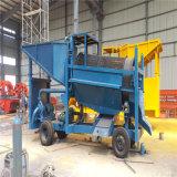 Equipo minero de la potencia de la criba móvil diesel del oro