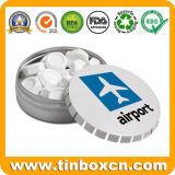 De Verpakking van de Gift van het Metaal van de douane om het Tin van de Munt van het Suikergoed van de Klik van de Klik