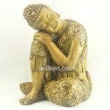 Décoration à la maison reposant la statue de Bouddha à vendre