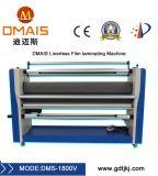 El DMS-1800V eléctrico de alta velocidad Linerless laminadora película frío con cortador