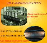 Horno de gas lujoso de la cubierta del anuncio publicitario 3 con precio de fábrica