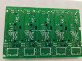 PWB de doble cara del aluminio de la asamblea del PWB del verde de la tarjeta de circuitos de 2 capas