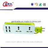 2017 Geavanceerde Adapter 4 FCC RoHS van de Reis van Ce USB Platooninsert