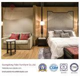 Insiemi parsimoniosi della mobilia della camera da letto dell'hotel con il disegno su ordine (YB-811)