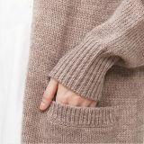숙녀 새로운 형식 긴 카디건 스웨터