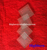 Fornitore quadrato della lastra di vetro del quarzo di Manufacurer