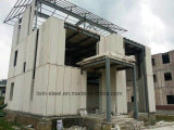 Camera prefabbricata dell'edificio residenziale del blocco per grafici dell'acciaio per costruzioni edili con la scheda del cemento