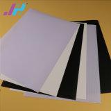 Bandera puesta a contraluz PVC brillante blanca de la flexión de los materiales de la impresión