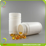 [120مل] بلاستيكيّة الطبّ زجاجة مع غطاء ذهبيّة