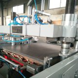 Máquina plástica automática controlada do PLC Thermoforming de Panosonic para a bandeja do alimento