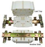 Tipo horizontal encierro óptico del empalme de la fibra con el divisor
