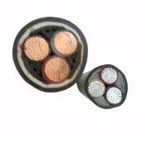 0.6/1kv circulaire en cuivre en fil de cuivre en polyéthylène réticulé compactée Câble d'alimentation blindés