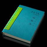 DIY Pocket PU-lederne Ausgabe-MITTLERER Jahr-Tagebuch-Zapfen für das Bekanntmachen des Geschenks