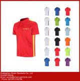 La fabbrica della Cina ha personalizzato due magliette di polo di colore per gli uomini (P75)