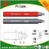 50 ' Calibre de diâmetro de fios solar do cobre #10 do preto do volume do cabo fio de um picovolt de 1000 volts com isolação resistente de XLPE