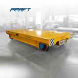 Carrello materiale di trasferimento del treno della rotella del carrello ferroviario d'acciaio pesante della guida